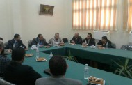 رئيس جامعة حلوان أ.د. ماجد نجم في زيارة لكلية التعليم الصناعي
