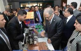 كلية التعليم الصناعي تشارك في ملتقي التوظيف السادس عشر بجامعة حلوان