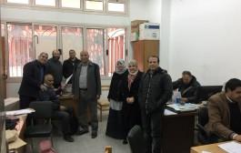 بدء تطبيق نظام التصحيح الآلي لامتحانات كلية التعليم الصناعي بجامعة حلوان